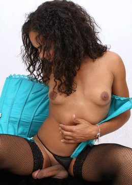 Juicy black she-cocks, busty ebony..
